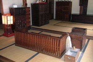 Inside a Meiji period dwelling
