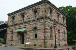 The old 1898 Sapporo Telephone Exchange building