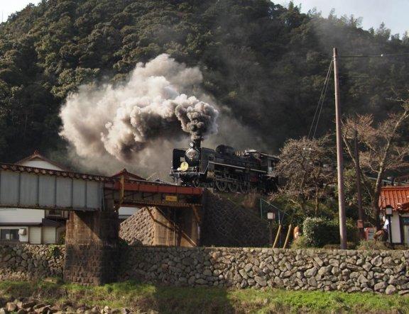 SL Yamaguchi-go Steam Train