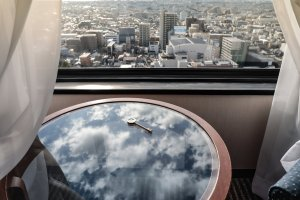 Hotel Century Shizuoka: Views
