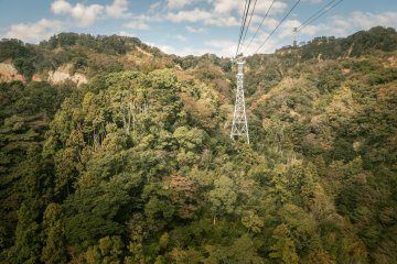 Nihondaira Ropeway: Views of Mount Kuno