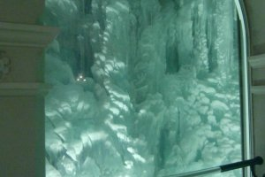 Ice collumns
