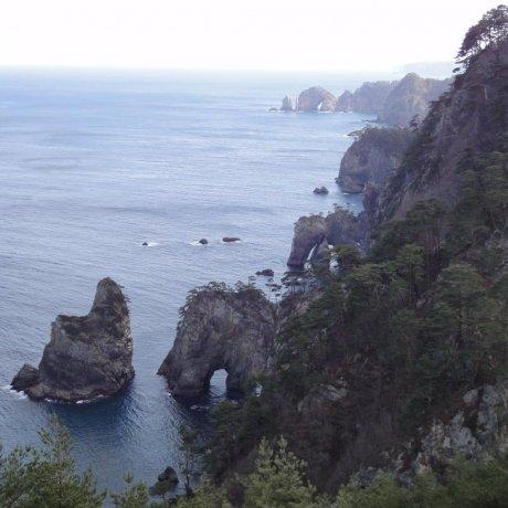 Kitayamazaki Cliffs - Rikuchu Coast