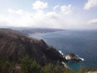 Khung cảnh phía nam nhìn từ Kitayamazaki