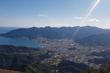 Top of Binshiyama - Owase