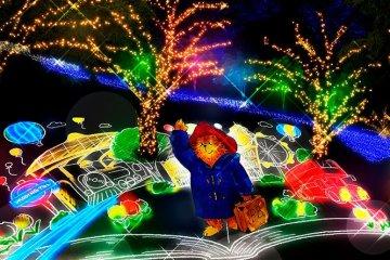 เทศกาลประดับไฟฤดูหนาว Sagamiko