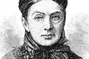 A portrait of Isabella Bird