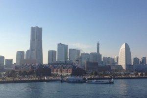 The Yokohama skyline looks very different today!