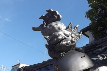 Oibessan Shrine in Shizuoka
