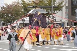 เทศกาลจิไดแห่งเมืองเกียวโต