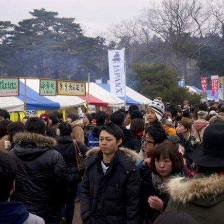 เทศกาลหอยนางรม Matsushima