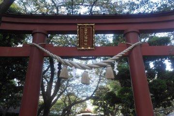 Đền Kamata Hachiman-jinja