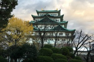 The imposing Nagoya Castle in Nagoya City