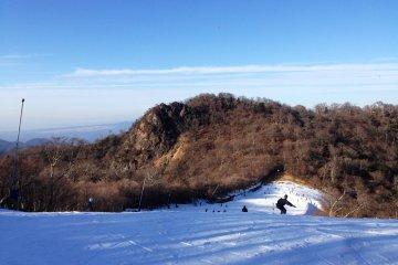 Check out the natural snow at Gokase Resort