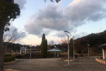 Goshiki Wellness Park's grounds
