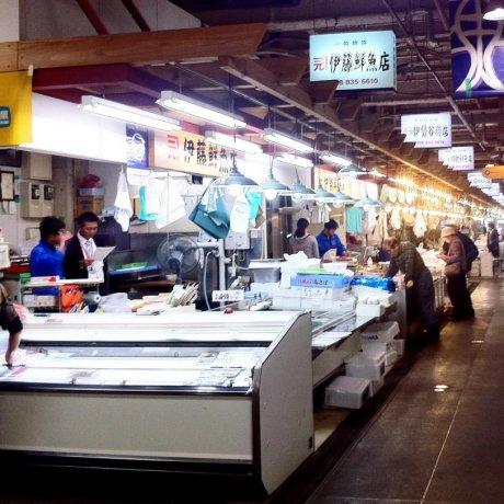 秋田的农民&鱼市场