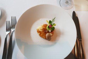 Danshaku potato croquette