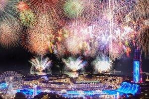 งานแข่งขันดอกไม้ไฟฤดูใบไม้ผลิครั้งแรกในคิวชู