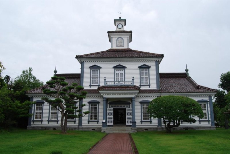 Former Nishitagawa District Office built in 1881.