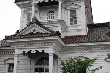 Former Tsuruoka Police Station built in 1822.