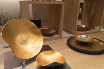 Gorgeous gold ware.