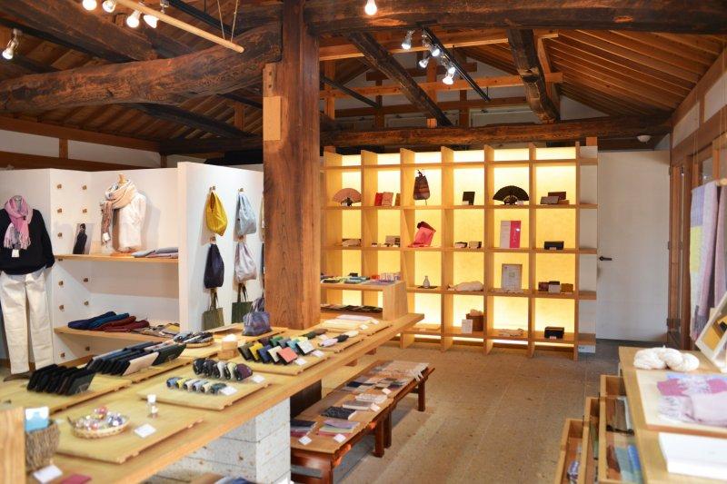 Le musée Tsumugi-no-Yakata à Yuki