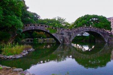 Отражение Меганэбаси (Окулярного моста)