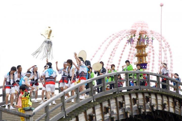 Kintai-kyo Bridge Festival, Iwakuni