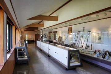 Inside, there are exhibits covering many aspects of Hakatajima Island