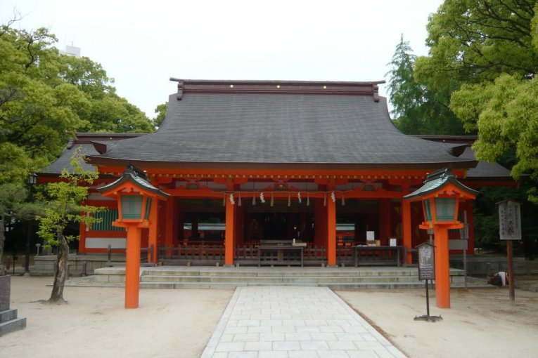 Sumiyoshi Shrine - Hakata City