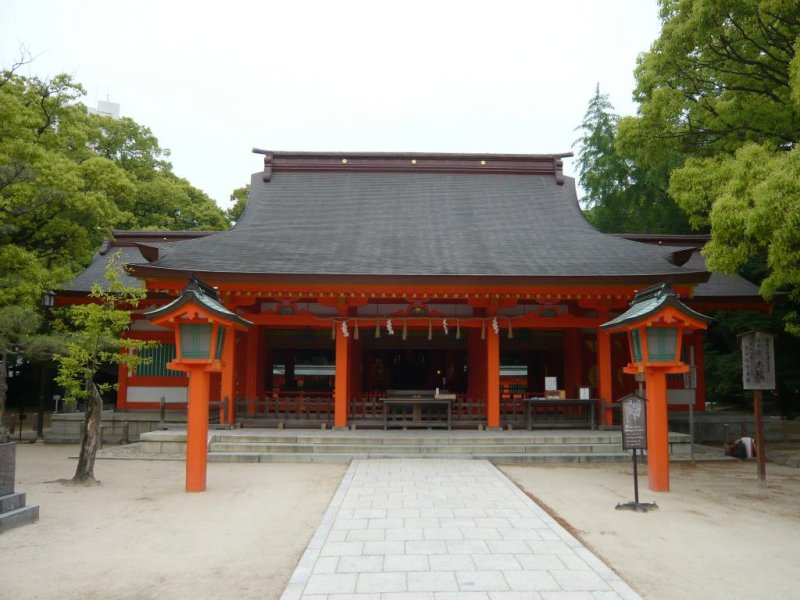 <p>Sumiyoshi Shrine</p>