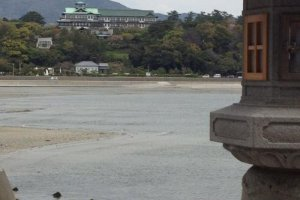 The Gamagori Classic Hotel watches over the bay