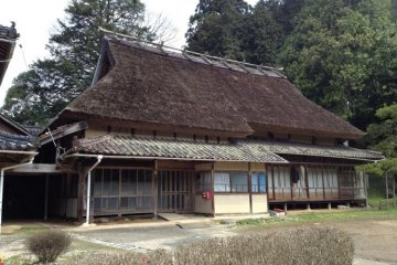 The Hirao house, Musashi's sister's house