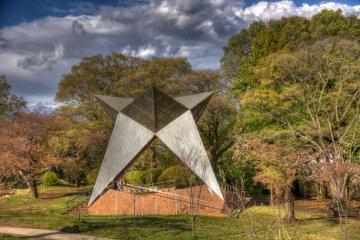사야마 공원의 쿨 스타 키오스크
