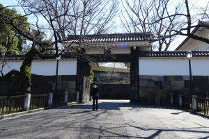ประตูทางเข้าสวนคิทะโนะมะรุ