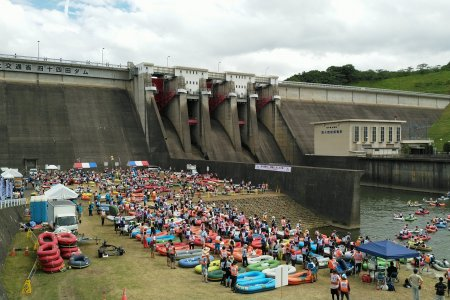 Kitakami River Rubber Boat Race