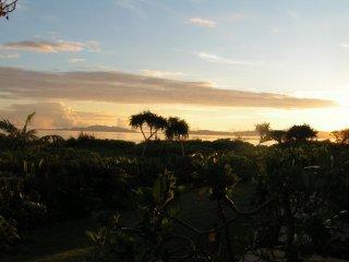 Sunset mood on the island