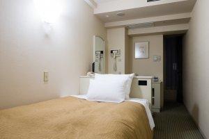 Single room in the Shinagawa Prince Hotel, East Tower