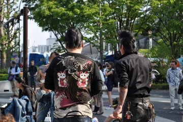 Rockabilly Dancers At Yoyogi Park