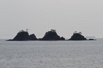 카모섬의 풍경