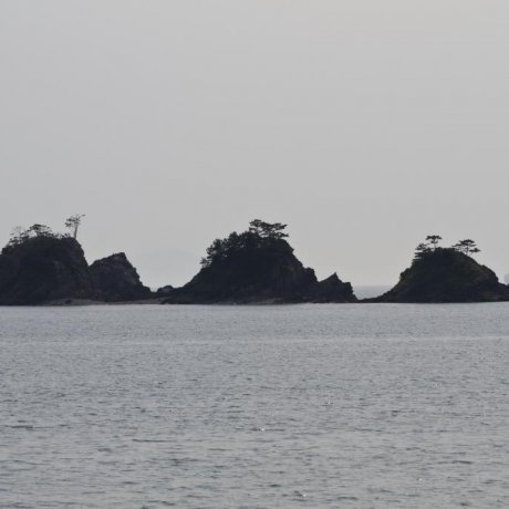 加茂島の風景
