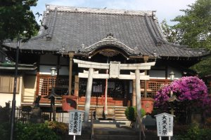 A beautiful smaller temple on the grounds