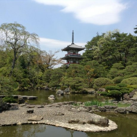 Rinnoji Buddhist Temple Sendai