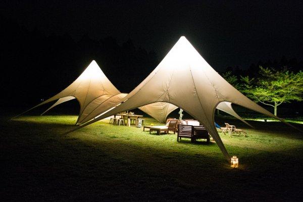 Exquisite tents in Romantic-mura
