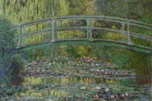 """""""Water-lily Pond"""" by Claude Monet(from the pamphlet)"""