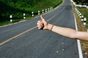 Hitchhiking has its own pitfalls, but if you're adventurous enough, you can give it a shot