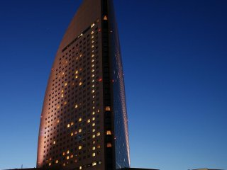 The Intercontinental Yokohama Grand on a stunning spring evening