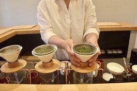 Tea Sampling at Tokyo Saryo