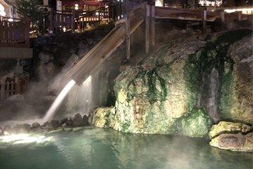 La Yubatake de noche