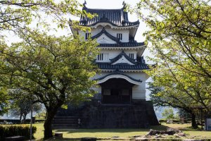 Uwajima Castle is one of the 12 castles with preserved original keeps